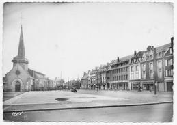 GRANDVILLIERS PLACE BARBIER 1958 - Grandvilliers