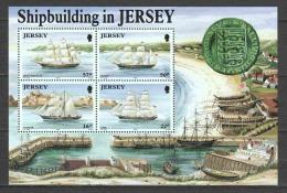 Jersey 1992 Mi Block 6 MNH SHIPS - Boten