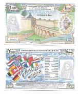 BILLET 1 EURO / LA CITADELLE DE BLAYE 1996 - EURO