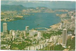 V355 Hong Kong - Bird's Eye View Of Kowloon / Viaggiata 1975 - Cina (Hong Kong)