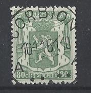 Nr 713A Centraal Gestempeld - 1935-1949 Petit Sceau De L'Etat