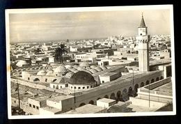Serie M: Libia - Tripoli 9. Dall'alto Del Castello / Postcard Circulated, 2 Scans - Libye
