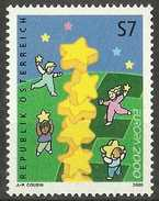 Austria - 2000 Europa Stars 7s MNH **      Sc 1814 - 1945-.... 2nd Republic