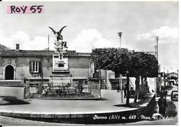 Campania-avellino-sturno Veduta Monumento Ai Caduti Animata Anni 50 - Italia