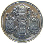 MEDAILLE / JETON D' Orléans - CAISSE D' ESCOMPTE D' ORLEANS (1859) Borrel - Professionali / Di Società