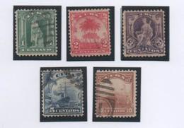 Cuba 1899 Columbus Stamp Set.Used. - Cuba