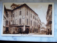 Cartolina - GAVI - Via Umberto I - Viaggiata - 1 - 6 - 1939 - - Alessandria
