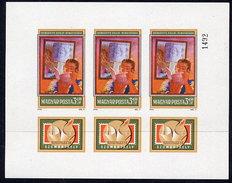HUNGARY 1978 SOZPHILEX Exhibition Imperforate Sheetlet MNH / **.  Michel 3274B - Hungary