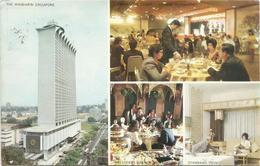 V384 Singapore - Forty Storey Mandarin - Orchard Road - Nice Stamps Timbres Francobolli / Viaggiata 1974 - Singapore