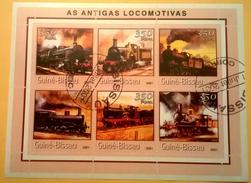 LOCOMOTIVAS USATI SERIE COMPLETA - Guinea-Bissau