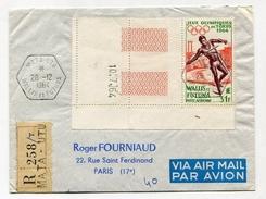 !!! LETTRE DE PA DE WALLIS ET FUTUNA POUR LA FRANCE CACHET DE MATA UTU 1964 - Covers & Documents