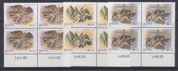 Malta 1989 Christmas 3v Bl Of 4 ** Mnh (35262B) - Malta