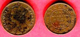 BIKANER 1/4 ANNA 1893   (KM 71) T B 19 - India