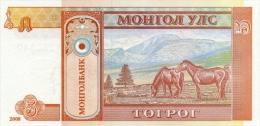 MONGOLIA P. 61Ba 5 T 2008 UNC (2 Billets) - Mongolia