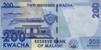 MALAWI P. 60 200 K 2012 UNC - Malawi