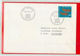 SVIZZERA - GENEVE 1973 - UNESCO  Conference De L'education - UNESCO