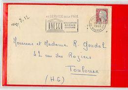 FRANCE - PARIS WAGRAM - UNESCO AU SERVICE DE LA PAIX 1960 - UNESCO