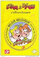 "België - Fila-strip -  ""Stam & Pilou S´affranchissent"" - Nummer 545/1200 Exemplaren - Propaganda"