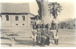 Congo MALELA  Dans La Cour Du Séminaire  ...CL - Belgian Congo - Other