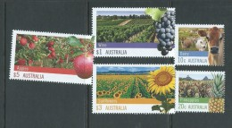 Australia 2012 Farming Set Of 5 To $5 Apple MNH - 2010-... Elizabeth II