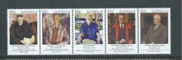 Australia 2012 Nobel Prize Winners Strip Of 5 MNH - 2010-... Elizabeth II