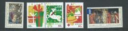 Australia 2012 Christmas And Seasons Greetings Set 5 MNH - 2010-... Elizabeth II