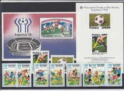 FUSSBALL-FOOTBALL-SOCCER- CALCIO, ARGENTINA, 1978, Special Cover / Stamp / Postmark !! - Copa Mundial
