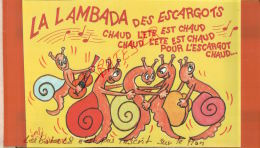 FANTAISIES  Illustrateur EMBÈ   L'ÉTÉ SERA CHAUD POUR L' ESCARGOT LA LAMBADA  2dit  Sizi  N° 125  Mars 2017 134 - Sizi