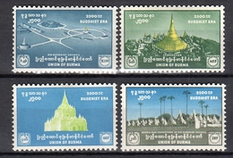 1956 Buddha 2500 Years MH Very Fine (b13) - Myanmar (Birma 1948-...)