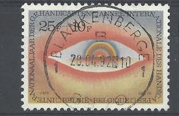 Nr 2000 Centraal Gestempeld - Oblitérés