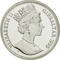 Gibraltar, Elizabeth II, 14 Ecus, 1995, FDC, Argent, KM:495 - Gibraltar