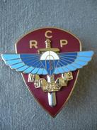 """Broche - 3e Régiment De Chasseurs Parachutistes - """" Who Dares Wins """" - Signé Arthus Bertrand - Militaria - Autres"""