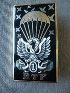 Broche - 1er Régiment Du Train Parachutiste - R.T.P. - Signé Arthus Bertrand - Militaria - Vautours - Autres