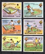 1981 Football MNH Complete Set Mi.No. 788 - 795 (mo21) - Mozambique