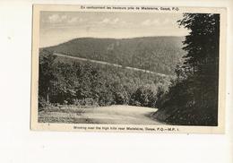 CPA , Canada, En Contournant Les Hauteurs Près De Madeleine , Gaspé , P. Q. ,Ed. H. V. Henderson , 1935 - Gaspé