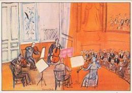 Peinture        H144        Le Concert Orange ( Raoul Dufy ) - Malerei & Gemälde