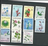 TUNISIE Scott 499-509 Yvert 640-650 (11) * Cote 7,80$ 1968-9 - Tunisie (1956-...)