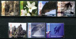 NIUE Rock, Pool, Dolphin, Whale Fauna MNH - Niue