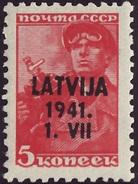 VP009 - LATVIJA German Occupation MNH **