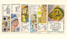 TUNISIE Scott 600-605 Yvert 743-748 (6) ** Cote 4,00$ 1973 - Tunisie (1956-...)