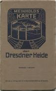 Deutschland - Meinholds Karte Der Dresdner Heide - 1:20000 - Verlag C. C. Meinhold & Söhne Dresden - 60cm X 68cm - Bearb - Landkarten