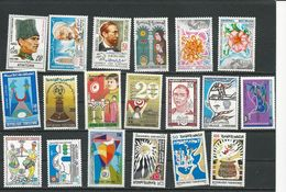 TUNISIE Timbres NEUFS SANS Charnière Voir Détail (19) ** Cote 11,20$ 1980-85 - Tunisie (1956-...)