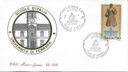 ITALIA - FDC  ROMA LUXOR  1992 -  UNIVERSITA´ DI FERRARA - ANNULLO SPECIALE FERRARA - 6. 1946-.. Republic