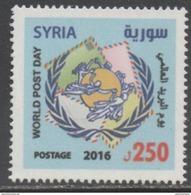 WORLD POST DAY, 2016, MNH, UPU,1v - Post