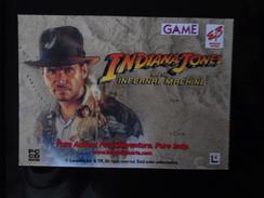 Indiana Jones Game Carte Postale - Advertising
