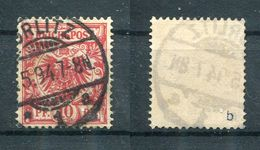 Deutsches Reich Michel-Nr. 47b Vollstempel - Geprüft - Oblitérés