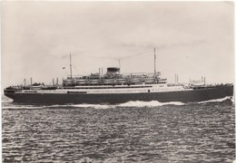 M/n Vulcania, (24.495 Tonn), 1961 Used Postcard [19847] - Dampfer