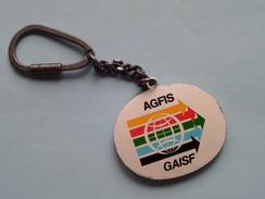 AGFIS - GAISF ( Key Chain - Porte Clé / Sleutelhanger / Zie Foto ) ! - Sports