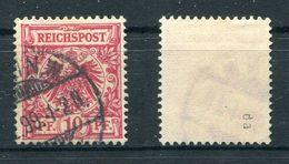Deutsches Reich Michel-Nr. 47da Gestempelt - Geprüft - Alemania