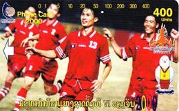 Laos - Tamura-card LAO-M-17 - 400 Units - As Scan